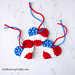 Patriotic Heart Ornament pattern