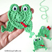 Frog Applique pattern