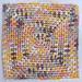 Moss Stitch In a Square Dishcloth pattern