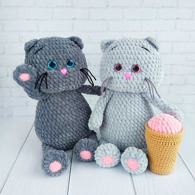 Crochet cat doll amigurumi pattern - Amigurumi Today   640x640