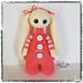 Amigurumi Bootyful Bunny doll pattern