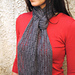 Staggered Ladders Scarf pattern