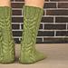 Log Cabin Socks pattern