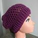 Purple Pineapple Punch Kerchief pattern