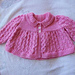 Knitted Lacy Jacket pattern