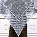 Mitsuko Garden Shawl pattern