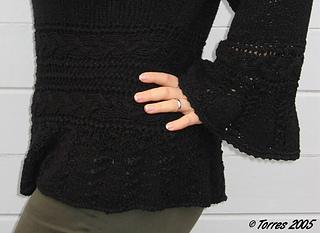 Kosima - Musterdetails mit Arm