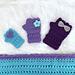 Infinite Spring Fingerless Gloves pattern