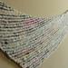 Handspun Boomerang Shawl pattern