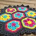 African Flower Centerpiece pattern