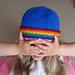 Rainbow Brim Beanie pattern