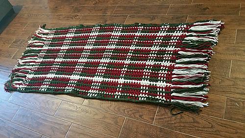 Crochet Christmas Blanket by GuChet 1