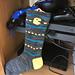 Pac-Man Sock pattern
