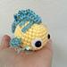 Flounder Amigurumi Fish pattern