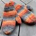 Guris simple children`s mittens pattern