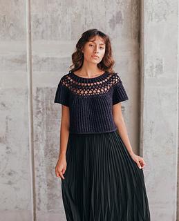 Elara Pullover pattern by Whitney Hayward