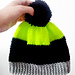 Colourblock Knitted Hat pattern
