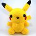 Chubby Pikachu pattern