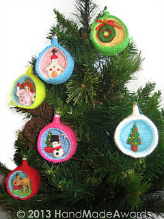 Christmas Diorama Ornaments.Christmas Tree Diorama Ball Ornament Pattern By Loly Fuertes