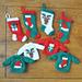 Santa Traditions Stocking & Sweater Ornaments pattern