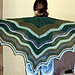 Feather and Fan Comfort Shawl pattern