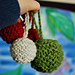 Christmas Baubles (any yarn!) pattern