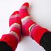 Stripe on Stripe Socks pattern