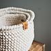 Herringbone Handle Basket pattern