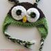 Crochet Owl Hat pattern