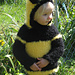 Fuzzy Buzzy Bee Costume pattern