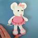 Ballerina Mouse pattern