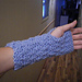 Slip Stitch Arm Warmer Pattern (Made Flat) pattern