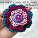 976 Pretty Crochet Flower pattern