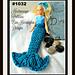 1032-Barbie Mermaid Tail pattern