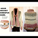 3 HOUR HOMESPUN shawl pattern