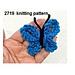 Easy Knit  Butterfly pattern
