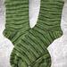 CSM Top Down Hung Hem Sock pattern
