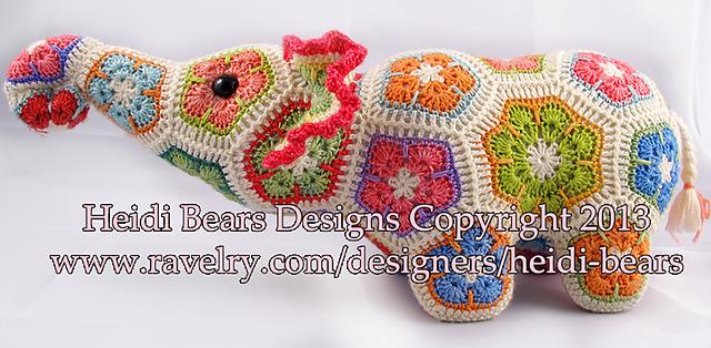 Free pattern - Elephant Snuggle - Dendennis | Crochet | Knit | Craft | 314x640