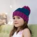 Naughty or Nice Pompom Hat pattern