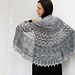 Snowmelt Shawl pattern