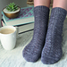 Cliff Walk Socks pattern