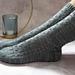 Rainy Window Socks pattern