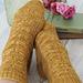 Wild Bees Socks pattern