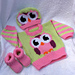 Owl Sweater Set pattern