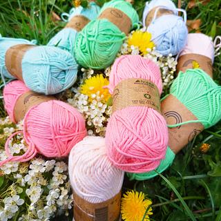 Hobbii Rainbow Cotton 8/8 Organic