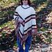 Beautiful V Stitch Poncho pattern