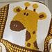 Giraffe Afghan pattern