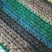 Cluster Stripes Baby Blanket pattern