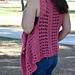 XOXO Summer Vest pattern