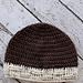 Basketweave Brim Beanie pattern